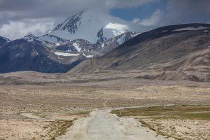 Plastic Road in Tajikistan
